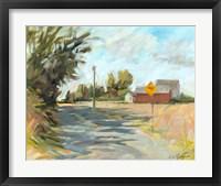 Framed Dry Slough Road