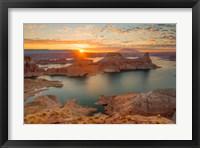 Framed Gunsight Sunrise