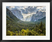 Framed Tunnel View Sun Rays