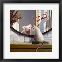Framed Mighty Mouse