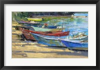 Framed Fishing Boats Marta