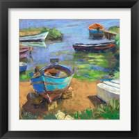 Framed Fishing Boats in Marsala