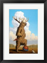 Framed When Griz Grew Up He Wanted To Be A Moose