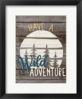 Wild Adventure 1 Framed Print