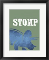 Stomp 1 Framed Print