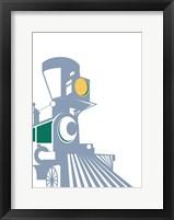 Eat Sleep Trains 1 Framed Print