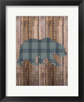 Bear Woods Framed Print