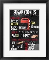 Framed Sugar Cookies