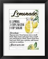 Framed Lemonade