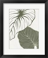 Serenity Palm 1 Framed Print
