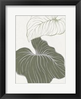 Serenity Palm 2 Framed Print