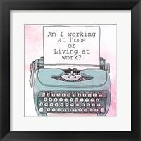 Framed Living at Work