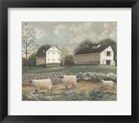 Framed Pennsylvania Farm