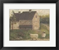 Framed Stone Barn