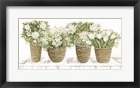 Framed Floral Baskets