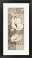 Soft Spa Floral II Framed Print