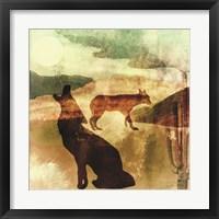 Texas Prairie I Framed Print