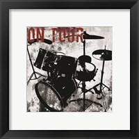 Framed On Tour Drums