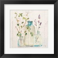 Blossoms V Light Framed Print