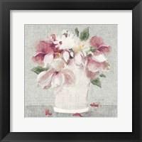 Cottage Bouquet II Light Framed Print