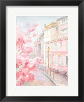 Pastel Paris II Framed Print