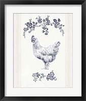 Summer Chickens II Framed Print