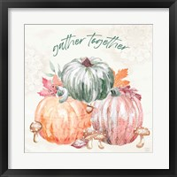 Harvest Touch V Framed Print