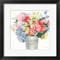 Boho Bouquet XVII Framed Print