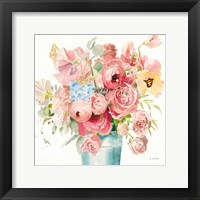 Boho Bouquet  VII Framed Print
