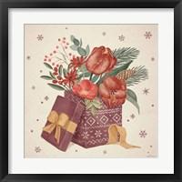 Winter Blooms IV Framed Print