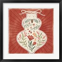 Winter Blooms VII Framed Print
