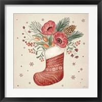 Framed Winter Blooms V
