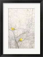 Birds in Trees II Framed Print