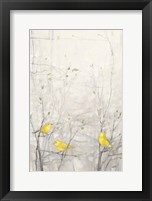 Birds in Trees I Framed Print