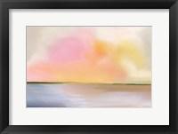 Framed Cotton Candy Beach