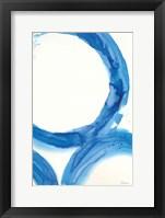 Rings of Water I Framed Print