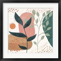 Abstract Blossom IV Framed Print