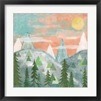 Woodland Forest VII No Words Framed Print