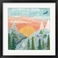 Woodland Forest VI No Words Framed Print