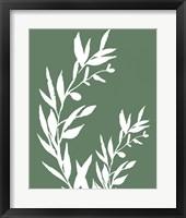 Leaves II Framed Print