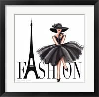 Framed Paris Fashion