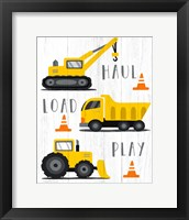 Haul, Load, Play Framed Print