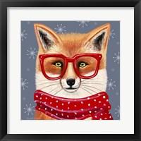 Sly Fox Framed Print