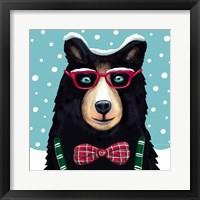 Jer Bear Framed Print
