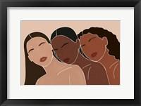 Framed Three Women