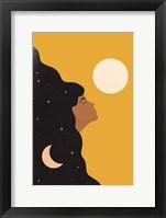Framed Sun and Moon