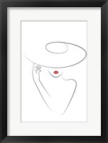 Hat Couture II Framed Print