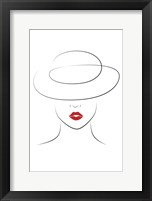Hat Couture IV Framed Print