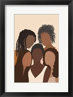 Framed Five Females