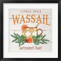 Wassail Framed Print